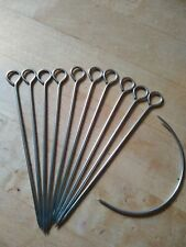 Upholstery Skewers,10 & Curved Needle 4""