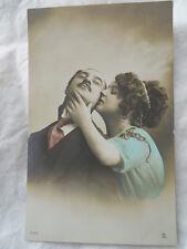 Carte photo romantique coquine  , CPA , couple