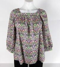 NWOT J Crew Penny top in Liberty® strawberry thief Size 0 Retail $88 Item F8521