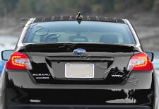 For Subaru WRX STI Glossy Black Shark Fin Rear Roof Vortex Generator Spoiler
