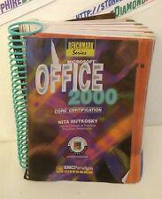 Microsoft OFFICE 2000: Core Certification Benchmark Series Nita Rutkosky USED