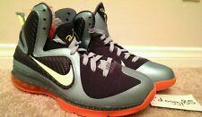 Nike LeBron IX Sz 9 DS cannon what the WTL big bang SOL galaxy MVP South Beach