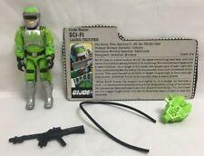 Vintage Gi Joe 1986 Sci-Fi 100% Completo Figura de Acción
