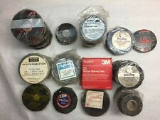 Vintage Lot of 48 Vinyl Electrical Friction Rubber Splicing Insulating Tape
