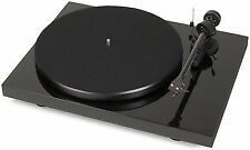 Pro-Ject Debut Carbon DC Record Player Needle Ortofon Om-10 Light Grey OFFER