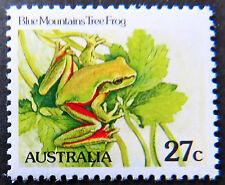 Australian Decimal Stamps:1982 Aust Animals II,Reptile & Amphibians - 27c MNH