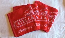 Ten Pack of Stella Artois Bar Towels - New