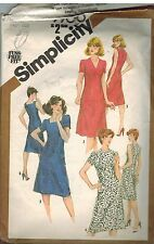 9900 Vintage Simplicity Sewing Pattern Misses Fitted Dress Fuss Free Fit OOP SEW