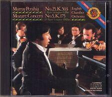 Murray Perahia Mozart PIANO CONCERTO 5 25 CBS 1982 JAPAN MADE cd pianoforte concerti
