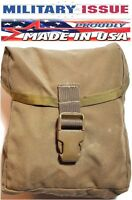 USED Military Issue USMC IFAK Individual First Aid Kit MOLLE Pouch Coyote Brown