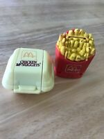 mcdonalds happy meal Chicken McNuggets & French fries Transformer Toys