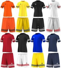 954af1785 Adidas Boys T Shirt Football Kids Shorts Training Gym sports Gym Running  Summer