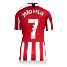 Joao Felix Atlético Madrid autografiado/firmado 2019-20 Jersey iconos Auténtico