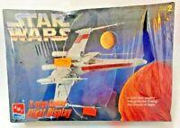 Vintage Star Wars 1995 X-wing Fighter Flight Display NIB Factory Sealed