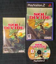 SOL DIVIDE - PAL FR shoot 'em up schmup PS2 PLAYSTATION jeu FRA RARE