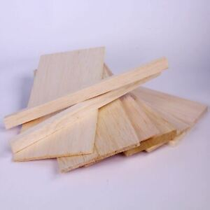 Balsa Wood for Modelling & Craft Light Weight Mini Pack 8 Assorted Sizes