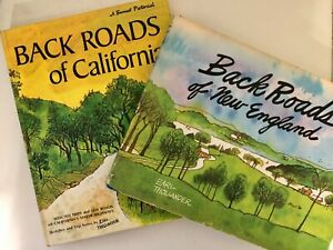 Earl Thollander Back Roads Collection: New England (74) & California (71)