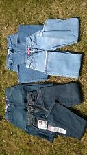 Jeans 4 Lot sz 12 14 18 Tommy Hilfiger New Wrangler Urban Pipeline Union Bay