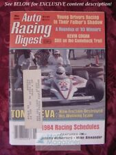 Auto Racing Digest April May 1984 TOM SNEVA Johnny Rutherford Kevin Cogan