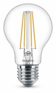 Philips Dimmable LED Warm White 8W = 60W 806lm E27 Edison Screw A60 Classic Bulb
