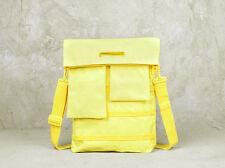 U1/UNIT PORTABLES borsa a tracolla porta-notebook color GIALLO