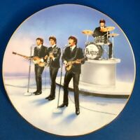 """The Beatles """"Live in Concert"""" Plate 1991  DELPHI 1st ED NEW IN BOX Free Shipping"""