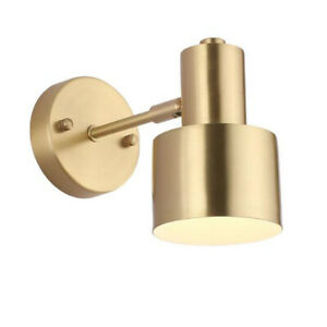 7W E26/E27 LED Bulb Replaceable Wall Sconce Reading Bedside Bedroom Light Nordic