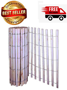 4 x 50 Foot 4 Strand 14 Gage Natural Wood Snow and Sand Fence