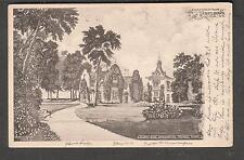 1904 post card Greetings from Tarrytown NY Sunnyside Washington Irving to Elmira