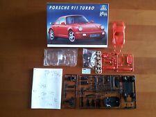 Kit Italeri N. 675 Porsche 911 Turbo Set Plastic Hobby Model Maquette