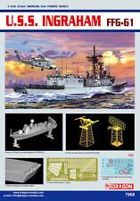 Dragon Plastic Model Kits #7068 1/700 U.S.S. Ingraham FFG-61