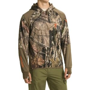 New Men`s Browning Hell's Canyon Performance Fleece Hoodie