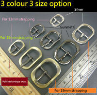 Swage Belt Pin Buckle for 13mm/15mm/19mm Strapping DIY Handbag/Boot/watch strap
