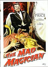 The mad Magician , 100% uncut , New & Sealed , Vincent Price , Eva Gabor