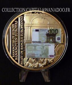 EUROPA Billets de Banque de L'Europe 100 Euros Europa 2011 Cuivre doré