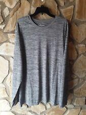 Bollinger Men's Athletic Top Shirt Sz 3Xl HeatherGray Long Sleeve Active Clothes