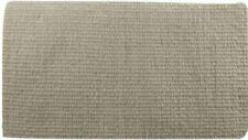 "Showman Tan 36""x34"" 100% New Zealand Wool Reversible Show Saddle Blanket! New!"