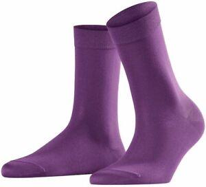 Falke Womens Cotton Touch Socks - Galaxy Purple