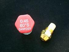 Brennerdüse Danfoss 0,45/60°S Vollkegel Düsenwechsel reduziert den Ölverbrauch