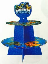 SKYLANDERS CUPCAKE CAKE STAND BIRTHDAY PARTY PACK DECORATION TABLE LOLLYLOOT BAG