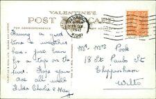 Elsie & Fred Pook.  18 St Paul Street, Chippenham, Wiltshire 1947  AJ.15