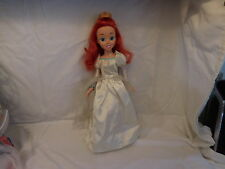 Disney Ariel The Little Mermaid Wedding Dress Princess Doll   2006 RARE + Shoes