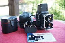 MAMIYA C220  PROFESSIONAL objectifs 80+180 mm+ notice.