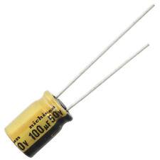 Nichicon UFW Audio Grade Electrolytic Capacitor, 100uF @ 50V, 20% Tolerance