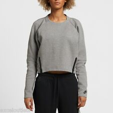 NWT! Nike WMNS Tech Fleece Aeroloft Crew Size S 683935 012 (#3164)