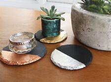 Slate candle holder trio, plant base, candle tray, succulent stand, made in UK