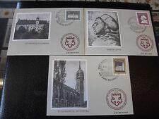 DDR Mk Luther 1967 maximum tarjeta 1317+1318+1319 maximum card Reformation iglesia