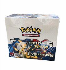 Pokemon XY Evolutions Display MINT 36 Booster Box Englisch Original Neu OVP