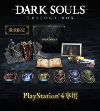 PS4 DARK SOULS TRILOGY BOX Limited Ver Senior Knight JAPAN EMS SHIPPING NEW