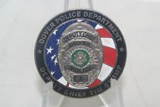 Capital of The First State Dover Police Department Deputy Chief Challenge Coin